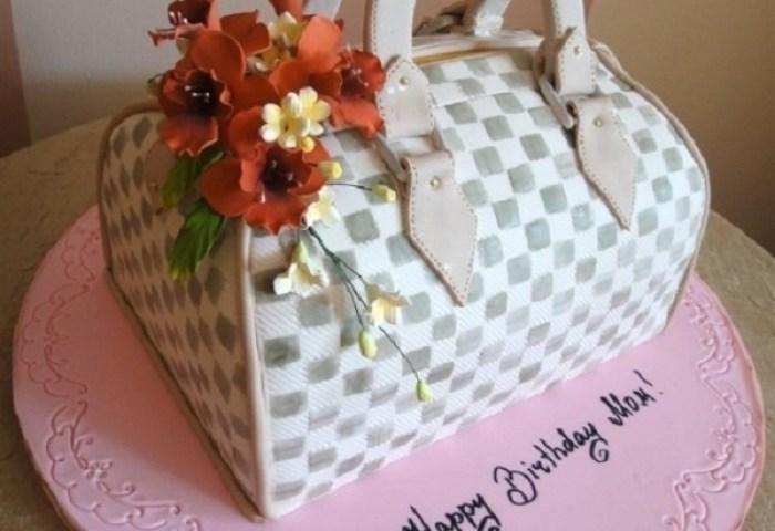 9 Beautiful Birthday Cakes Mom Photo Birthday Cake Happy Birthday