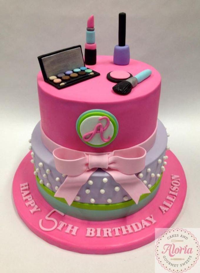 Makeup Cake For Little Girl