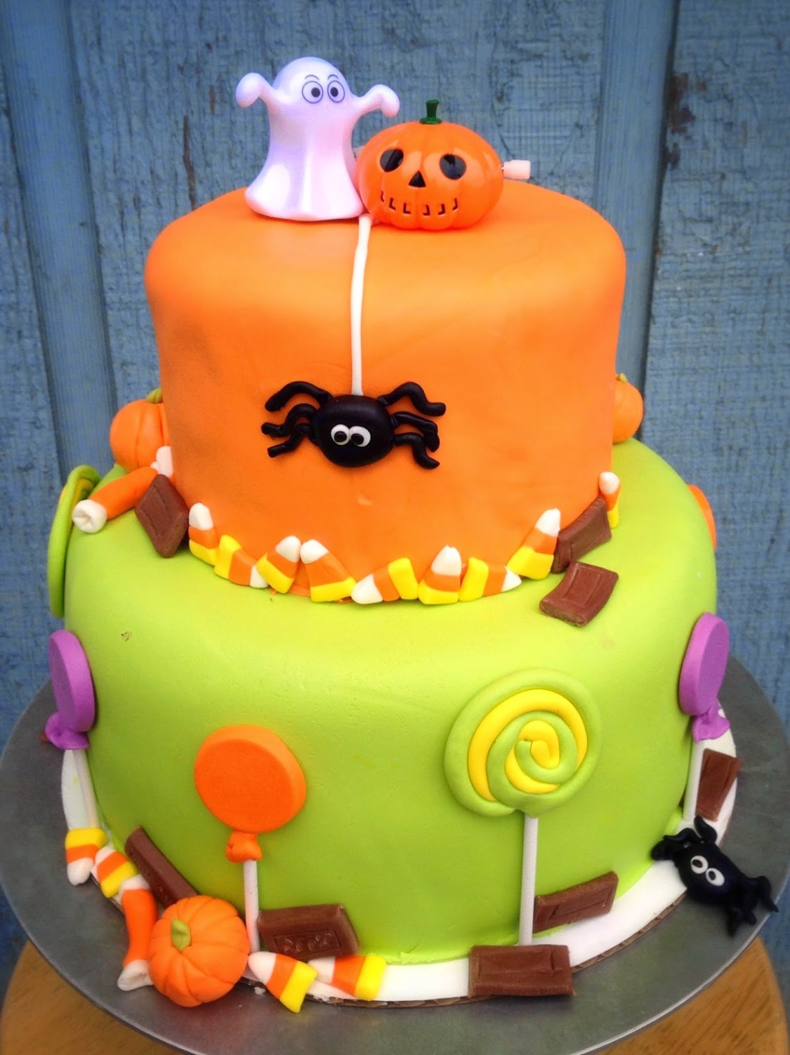 Sensational Halloween Birthday Cake Toddler The Cake Boutique Personalised Birthday Cards Petedlily Jamesorg