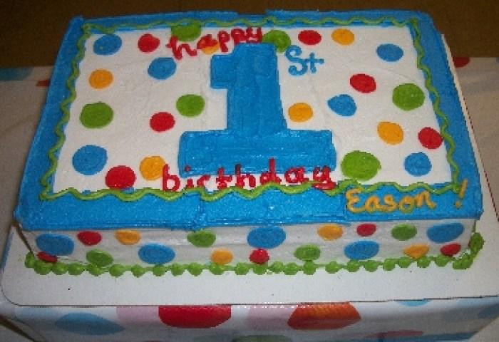 7 Easy Boy First Birthday Cakes Photo Blue Boy 1st Birthday Smash
