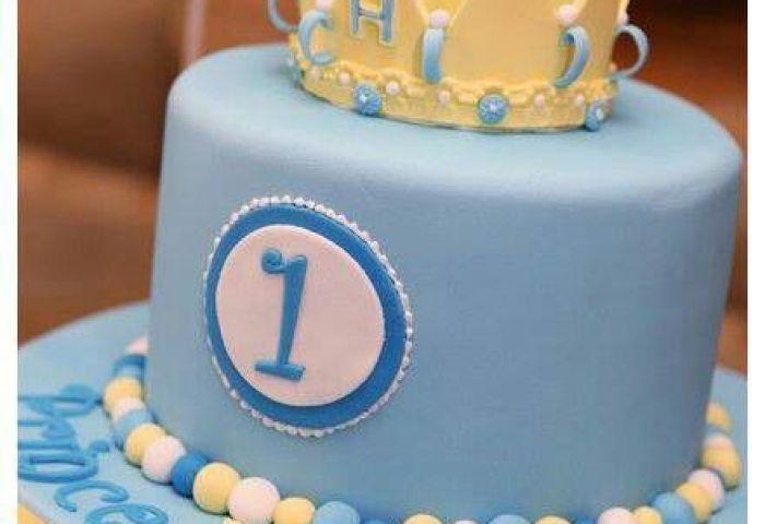 9 Cakes For Baby Boys First Bday Photo Baby Boy 1st Birthday Cake