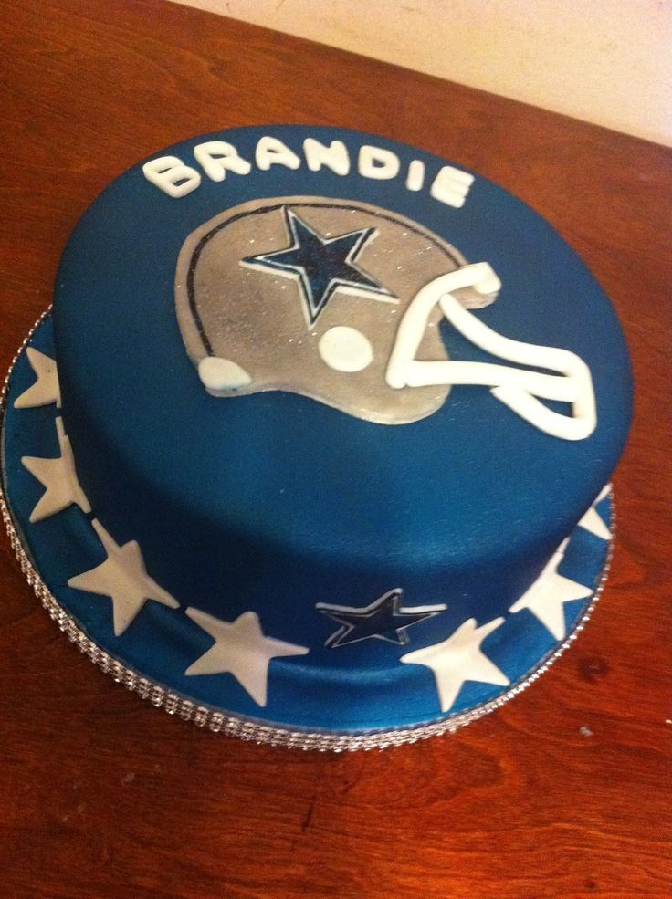 Dallas Cowboys Birthday Cake Decorations The Best Cake Of 2018