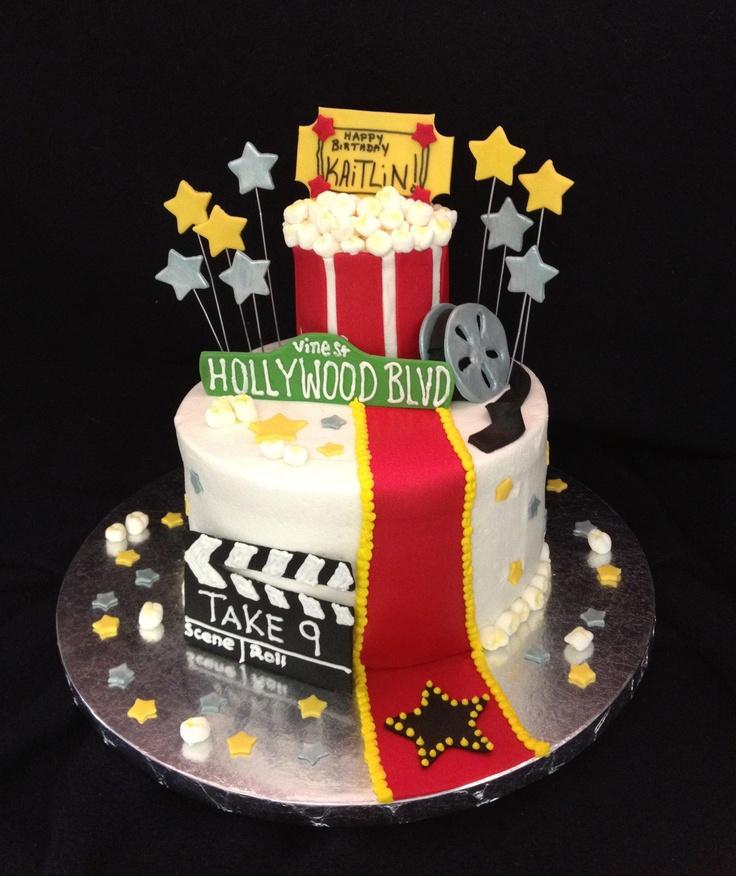 12 Movie Party Birthday Cakes Photo Movie Themed