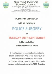 Police Surgery 20 Sept. 2016
