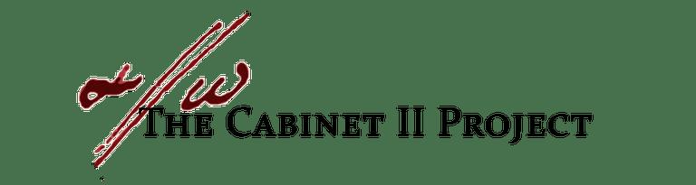 Cabinet Schrank 2 project Pisendel scores