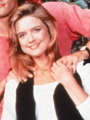 Courtney Thorne-Smith as Alison Parker on Melrose Place