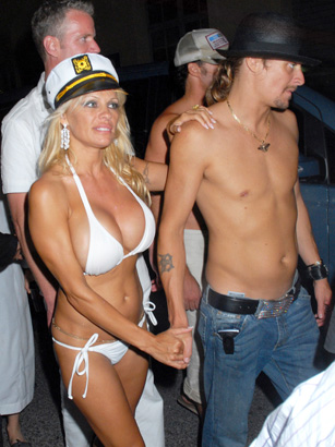 Pamela Anderson and Kid Rock Get Married in 2006