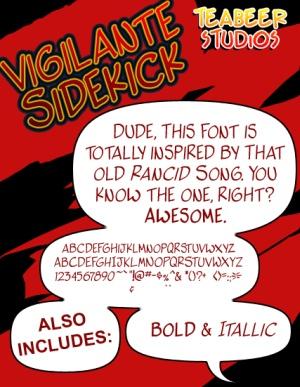 30 Free Comic Fonts -