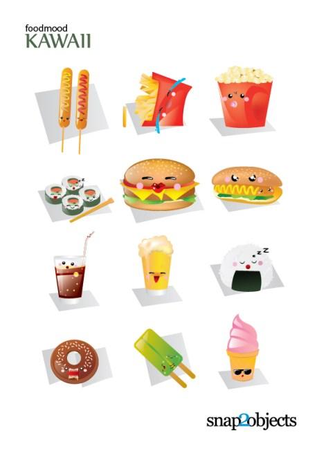 Free Cute Vector Fast Food