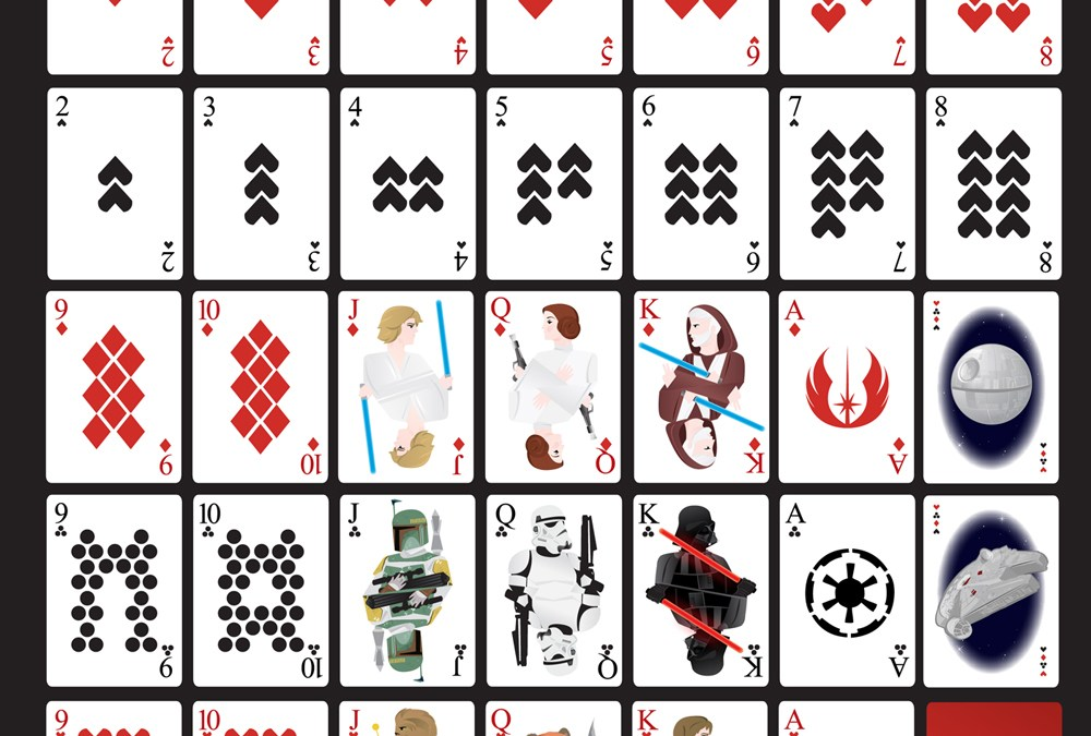 Star Wars Playing Card Deck