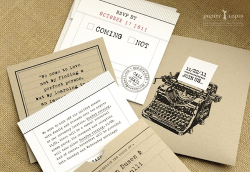 Wedding Invitation Catalog Ideas