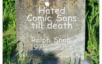 Hated Comic Sans till Death