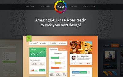Win an Annual Subscription for Design Resources and Premium UI Kits from PixelKit