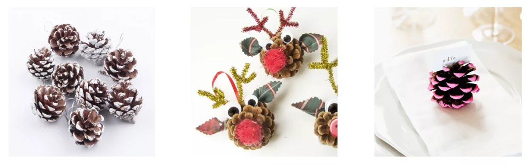 ideas para decorar con piñas