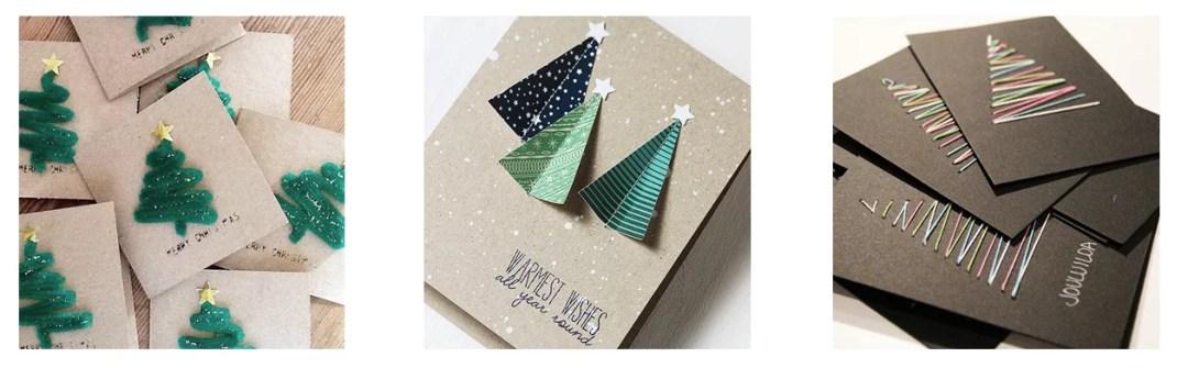 DIY tarjetas de navidad