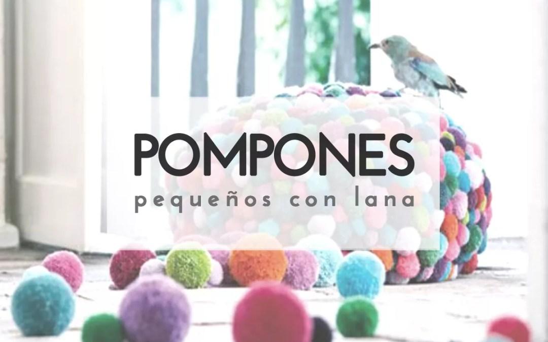 POMPONES DE LANA DIY