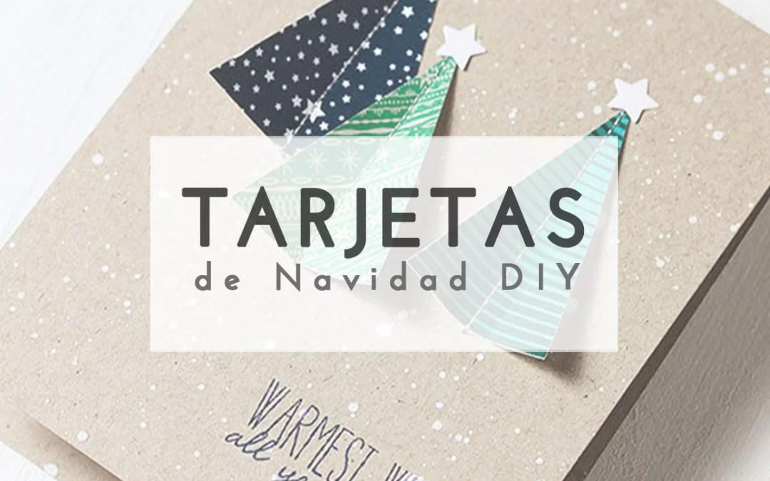 5 IDEAS PARA UNA TARJETA DE NAVIDAD DIY