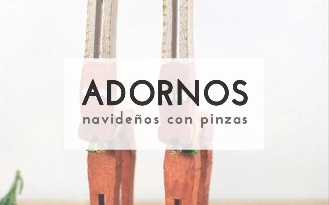 FIGURAS NAVIDEÑAS CON PINZAS