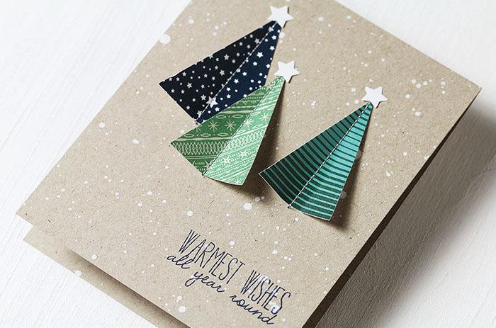 DIY tarjeta navideña