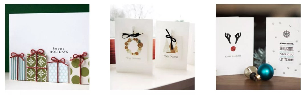DIY postales navideñas