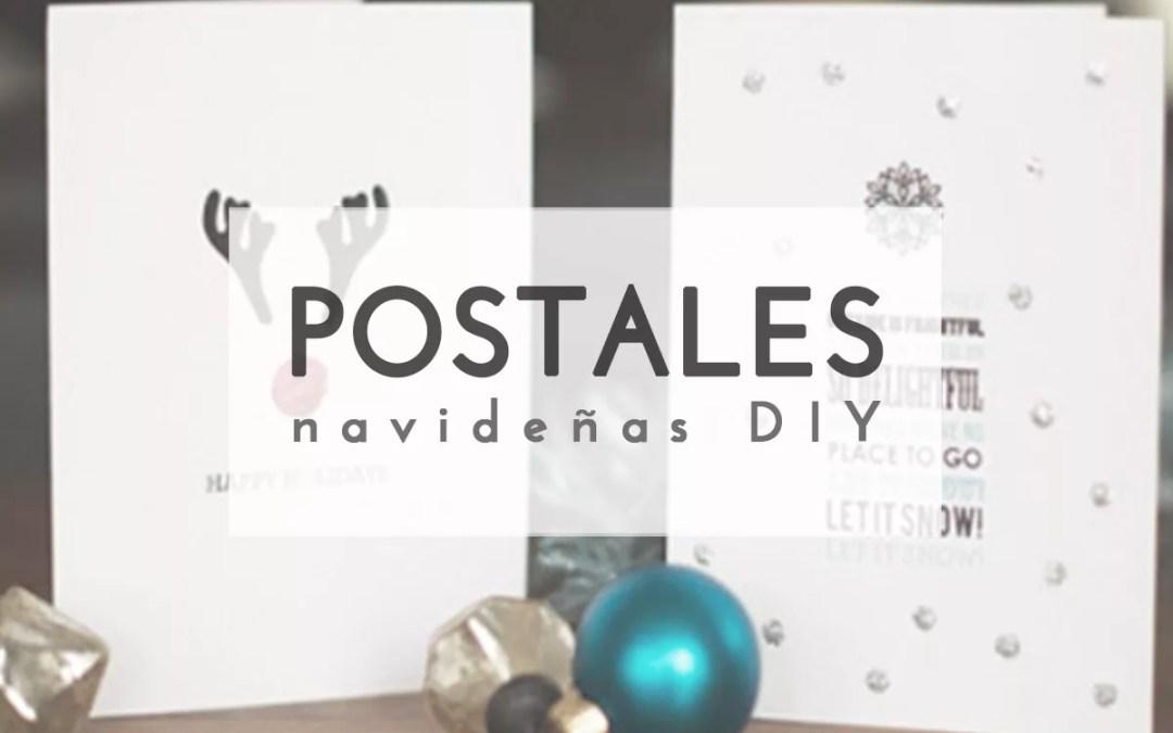 IDEAS DE TARJETAS NAVIDEÑAS DIY