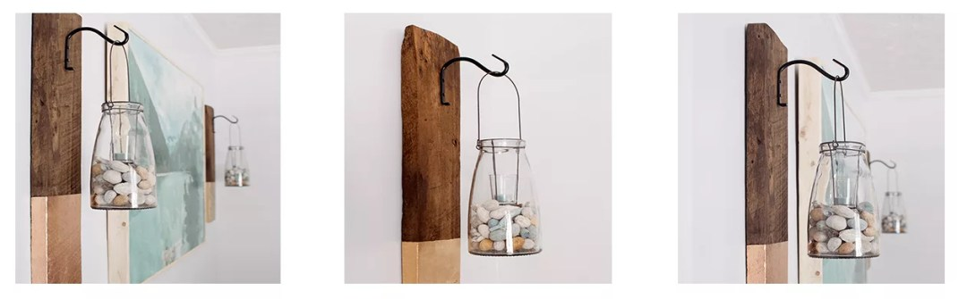 DIY colgador de madera