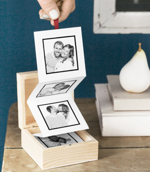 Tiras de fotos DIY