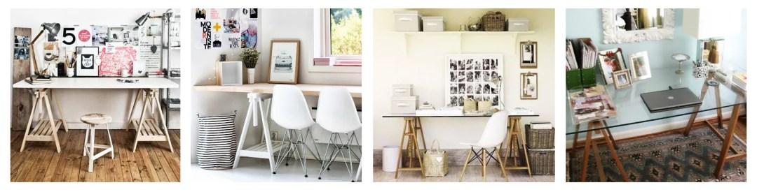 3 ideas para un escritorio DIY