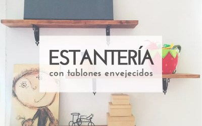 DIY ESTANTERÍA DE PARED