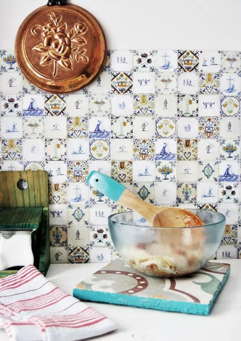 Posavasos DIY con azulejos