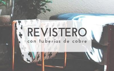 DIY REVISTERO CON TUBERÍAS