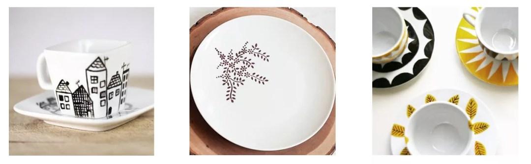 ideas para decorar cerámica