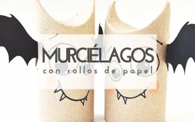 DIY MURCIÉLAGOS CON ROLLOS DE PAPEL HIGIÉNICO