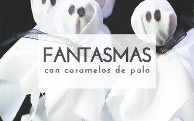 DIY CARAMELOS FANTASMA