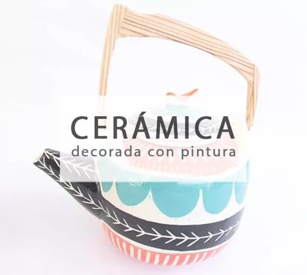 DIY DECORAR CERÁMICA