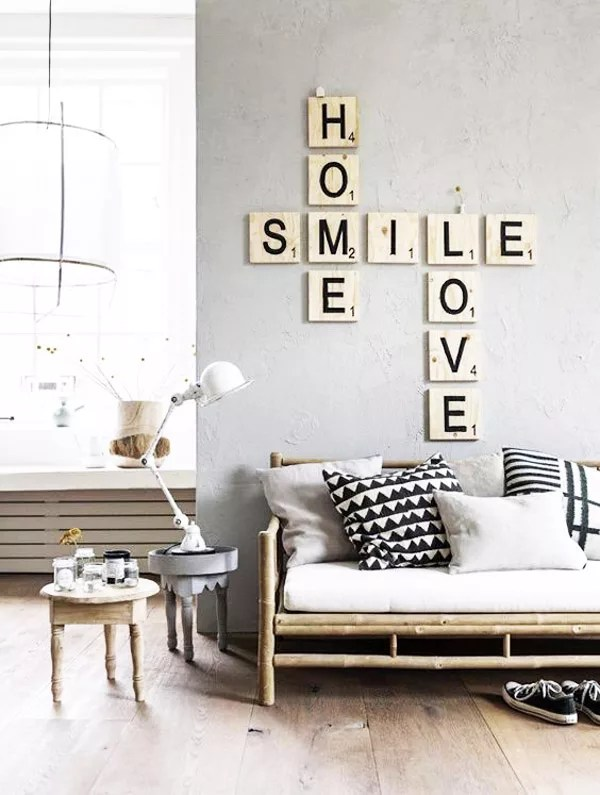 Diy decorar con letras scrabble - Letras scrabble para decorar ...