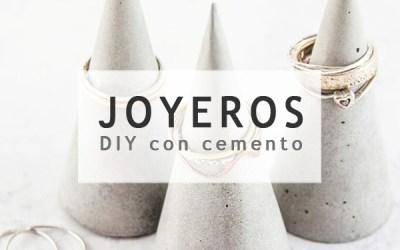 DIY JOYEROS CON CEMENTO