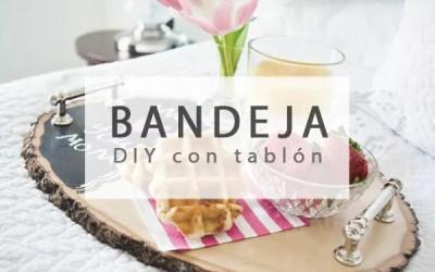 BANDEJA DIY CON TABLERO