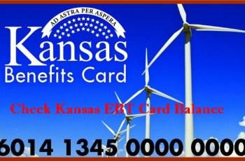 Check Kansas EBT Card Balance