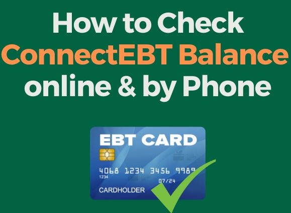 Www Connectebt Com Ebt Balance Connect Ebt Balance