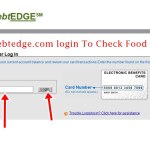 www.ebtedge.com login To Check Food Stamp Balance Online