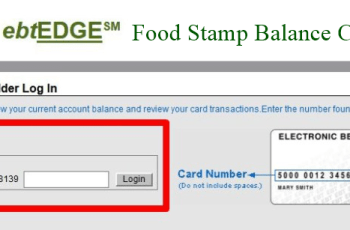 ebtEDGE Food Stamp Balance Check