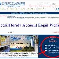 Access Florida Account Login