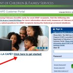 Create LA CAFE Account To Apply For Food Stamp in Louisiana