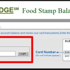Check Ebtedge Food Stamp Balance