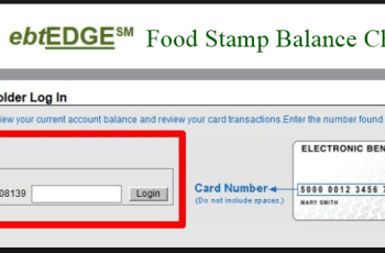 Check Ebtedge Food Stamp Balance