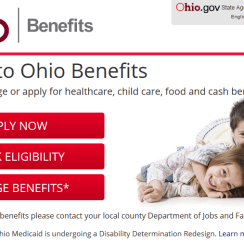 Create Benefits.ohio.gov Account