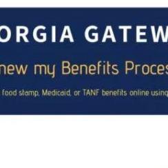 www.gateway.ga.gov Benefits Renewal