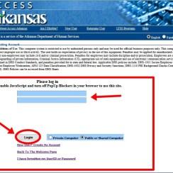 Access.arkansas.gov Login