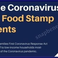 Coronavirus Effects on Food Stamp